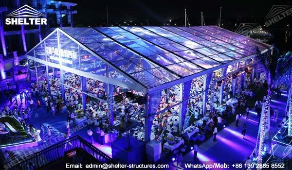 100 by 200ft Transparent Tent House  sc 1 st  Luxury Wedding Tent & German Structure - Marriage Tent House - Luxury Wedding Tent