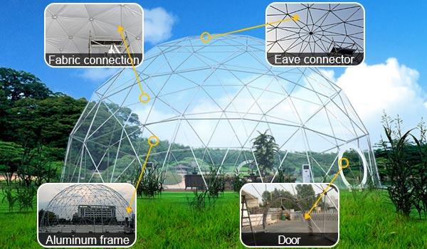 Wedding Dome - Geodome Tent & Wedding Dome - Geodome Tent House - Luxury Wedding Tent