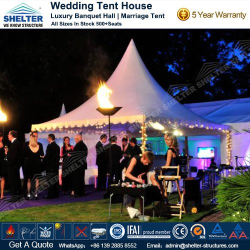 Wedding Canopy Outdoor Reception Hall Luxury Marriage Tent House
