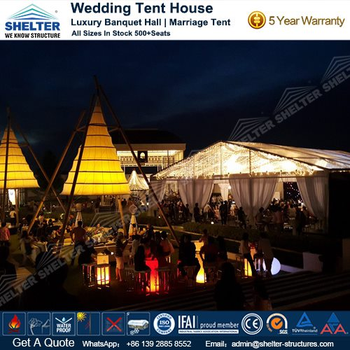 Luxury Marriage Tent Design u2013 Transparent Wedding Marquee & Luxury Marriage Tent Design - Wedding Tent House Sale in India
